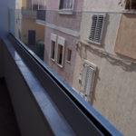 Balcone in vetro stratificato